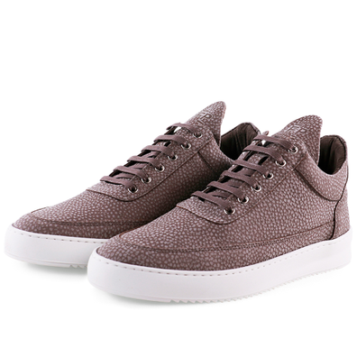 Filling Pieces Low Top Ripple Moor 'Taupe' productafbeelding