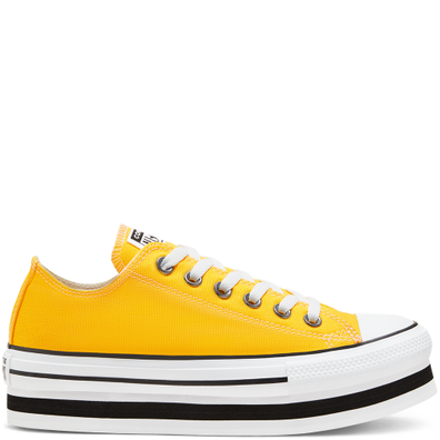 Everyday Platform Chuck Taylor All Star Low Top voor dames productafbeelding