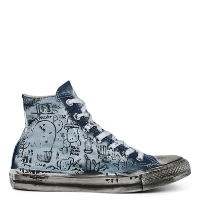 Unisex Hand-Painted Chuck Taylor All Star High Top productafbeelding