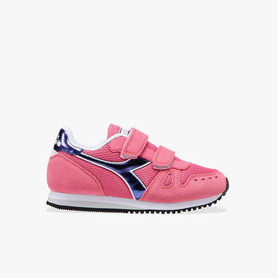 Diadora SIMPLE RUN PS GIRL pink productafbeelding