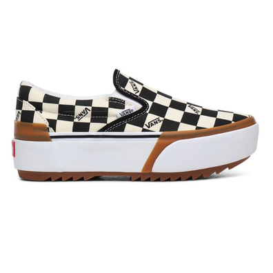 VANS Checkerboard Classic Slip-on Stacked  productafbeelding