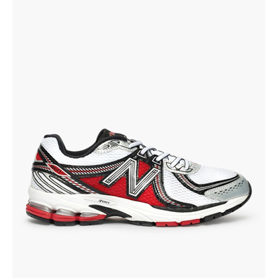 New Balance ML860 D White Grey Red productafbeelding