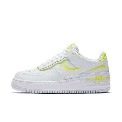 Nike Air Force 1 Shadow 'White/Neon' productafbeelding