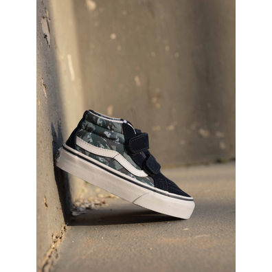 Vans Sk8 mid animal blue/camo PS productafbeelding