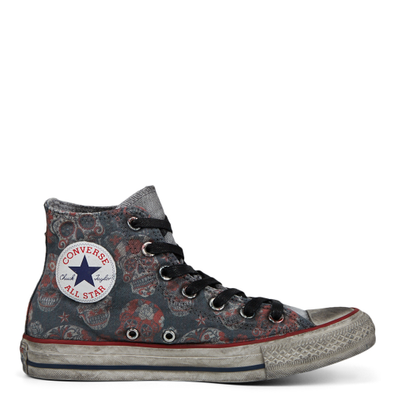 Unisex Sugar Skull Tattoo Chuck Taylor All Star High Top productafbeelding