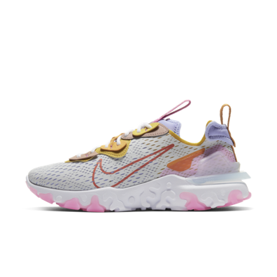 Nike D/MS/X React Vision 'White/Pink' productafbeelding