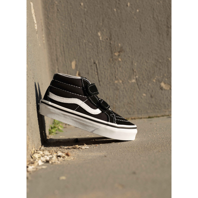 Vans Sk8 mid Reissue Black/white PS productafbeelding