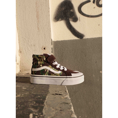 Vans Sk8 Hi Reissue V Animal Brown/Camo PS productafbeelding