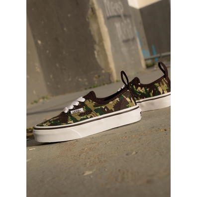 Vans Authentic Animal Brown/Camo PS productafbeelding