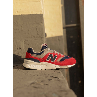 New Balance 997 Red/Blue/Grey PS productafbeelding