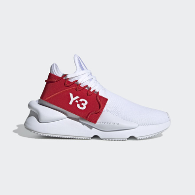 adidas originals Y-3 KAIWA KNIT FOOTWEAR WHITE productafbeelding