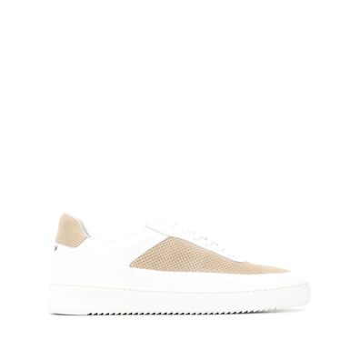 Filling Pieces suede mesh low top trainers productafbeelding