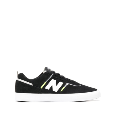 New Balance suede panel logo-embroidered trainers productafbeelding