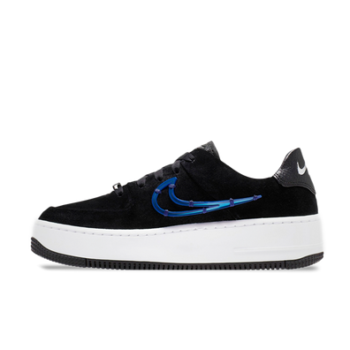 Nike WMNS Air Force 1 Sage Low LX 'Black' productafbeelding