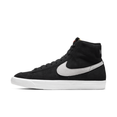 Nike Blazer Mid Suede 'Black' productafbeelding