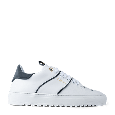 Mason Garments Roma Classic Leather/Reflective White/Cement productafbeelding