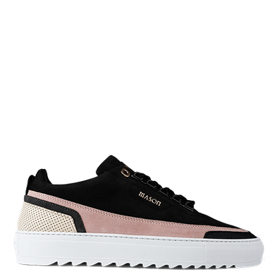 Mason Garments Firenze Nubuck/Suede/Stamp Black/Pink/Creme/Black productafbeelding
