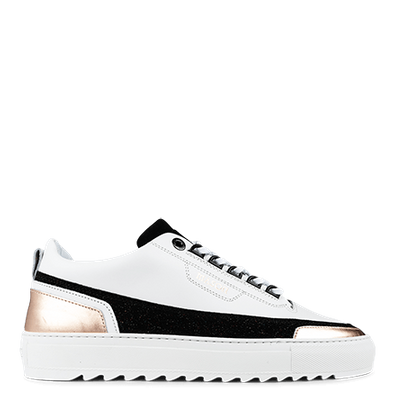 Mason Garments Firenze Leather/Glitter/Metallic White/Black/Rose productafbeelding