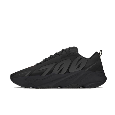 adidas Yeezy Boost 700 MNVN 'Black' - London, New York & Tokyo ONLY productafbeelding