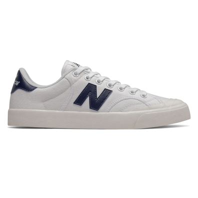 New Balance Pro Court Mens White / Navy Trainers productafbeelding
