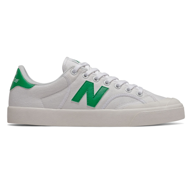 New Balance Pro Court Mens White / Green Trainers productafbeelding
