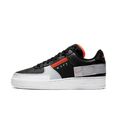 Nike Air Force 1 Type 'Black/Hyper Crimson' productafbeelding