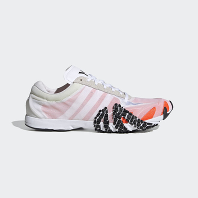 Y-3 multicoloured suede leather low top productafbeelding