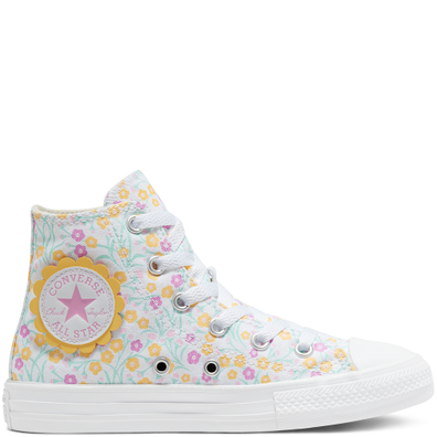 Ditsy Floral Chuck Taylor All Star High Top Schoen productafbeelding