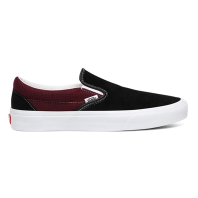 Vans Classic Slip-On Mens Black / Port Royale Trainers productafbeelding