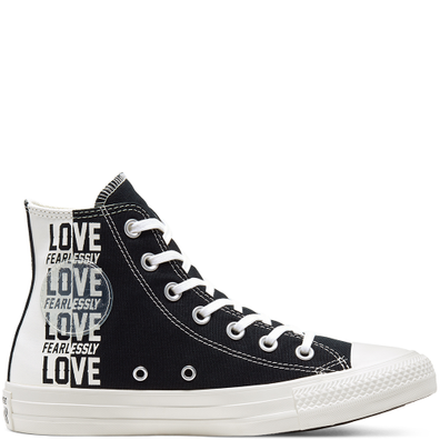 Love Fearlessly Chuck Taylor All Star High Top Schoen productafbeelding