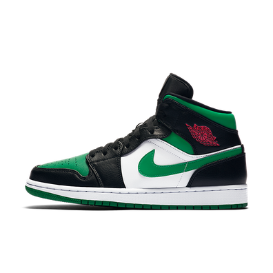 Air Jordan 1 Mid 'Pine Green' productafbeelding