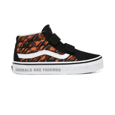 VANS Animal Checkerboard Sk8-mid Reissue V  productafbeelding