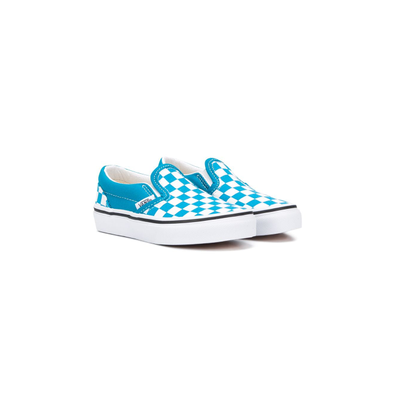 Vans Kids checkerboard canvas trainers productafbeelding