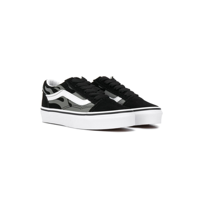 Vans Kids flame detail platform sole trainers productafbeelding