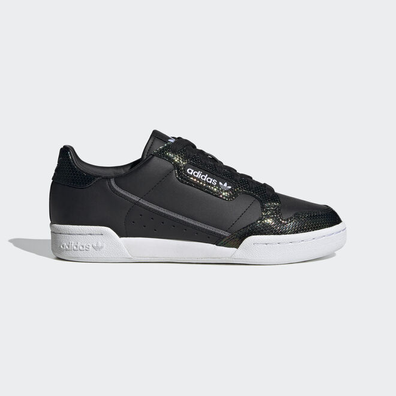 adidas Continental 80 W Core Black/ Ftw White/ Mystery Ruby productafbeelding