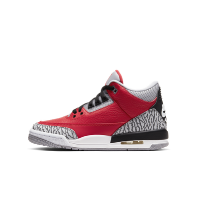 Air Jordan 3 GS Chicago All-Star 'Red Cement' productafbeelding