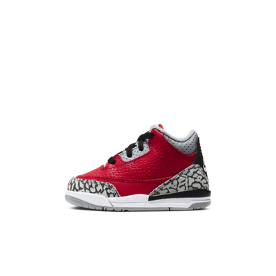 Air Jordan 3 TD Chicago All-Star 'Red Cement' productafbeelding