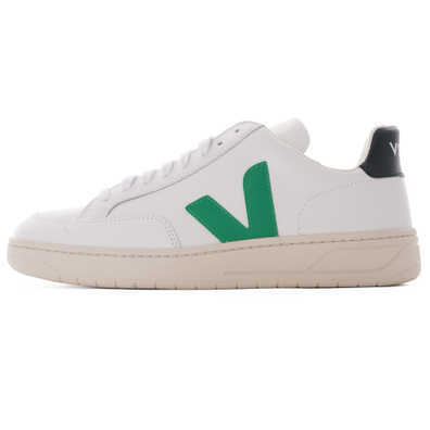 V-12 Leather - White productafbeelding