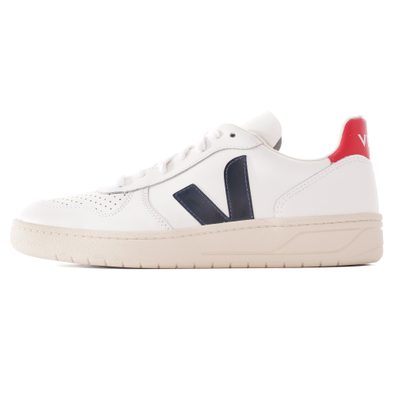 V-10 Leather - Extra White & Nautico Pekin productafbeelding