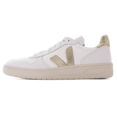 V-10 B Mesh Womens - White & Gold productafbeelding