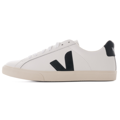 Esplar Leather Womens - White & Black productafbeelding