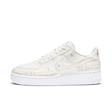 Nike Air Force 1 Blueprint 'White' productafbeelding