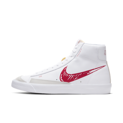Nike Blazer Mid 77 Sketch 'Red' productafbeelding