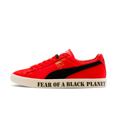 Public Enemy X Puma Clyde 'Fear of a Black Planet' productafbeelding