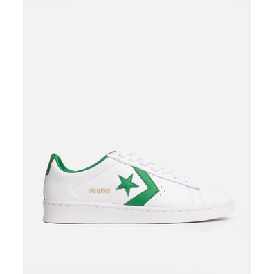 Converse Pro Leather OG OX (White/Green/White) productafbeelding