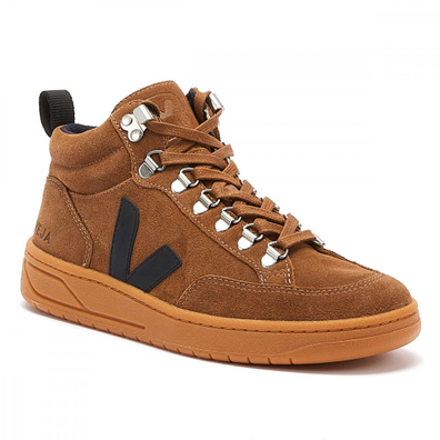 Veja Roraima Suede Womens Brown / Gum Trainers productafbeelding