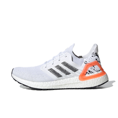 adidas UltraBOOST 20 Ftw White/ Core Black/ Signature Coral productafbeelding