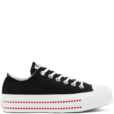 Love Fearlessly Platform Chuck Taylor All Star Low Top Shoe productafbeelding