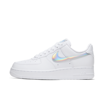 Nike Air Force 1 'White Iridescent' productafbeelding