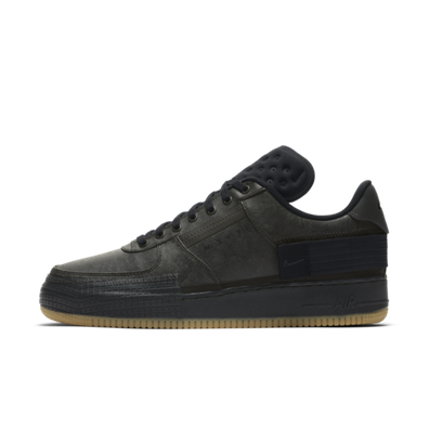 Nike Air Force 1 Type 'Black/Gum' productafbeelding